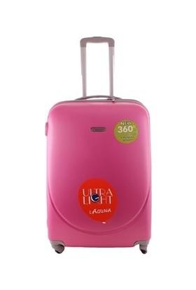 Laguna 2022-1 Fuşya Orta Boy Valiz Bavul