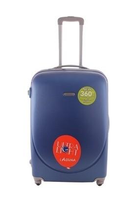 Laguna 2022-2 Mavi Büyük Boy Valiz Bavul