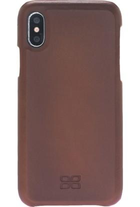 Bouletta Deri Apple iPhone X Kılıf / F360 / RST2EF / IPX