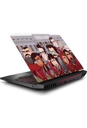 V.I.P La Casa De Papel Notebook Sticker 15.6 inc Full HD