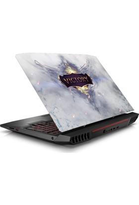 V.I.P League of Legends Victory Notebook Sticker 15.6 inc Full HD