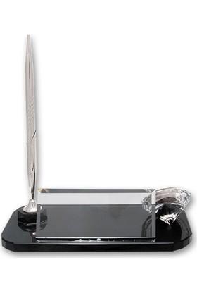 Kristal Gümüş Kaliteli Masa İsimliği KC504G
