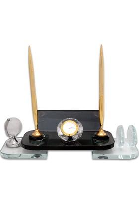 Kristal Altın Kaliteli Masa İsimliği KC503A