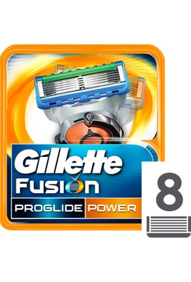 Gillette Fusion ProGlide Power Yedek Tıraş Bıçağı 8'li Karton Paket