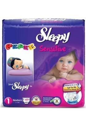 Sleepy Sensitive Newborn 1 Beden 40 Adet