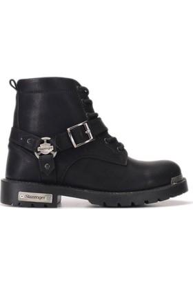 Slazenger Olek Outdoor Kadın Ayakkabı Siyah