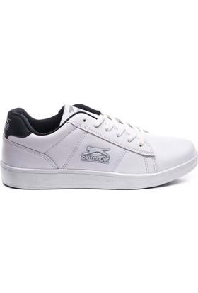 Slazenger Malcom Günlük Giyim Kadın Ayakkabı Beyaz - Lacivert