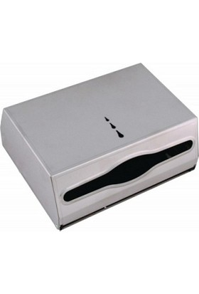 Şahnur Paslanmaz Kağıt Havlu Dispenseri Makinesi Aparatı İçten Çekmeli