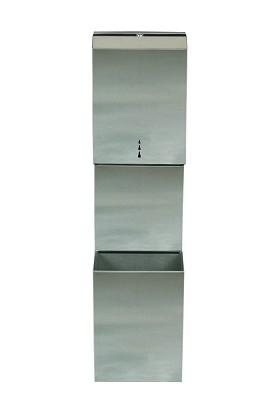 Şahnur Jumbo Paslanmaz Wc Kağıt Dispenseri Makinesi Aparatı