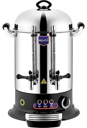 Remta Sanayi Tipi Çay Makinesi 160 Bardak Kahveci İnox Remta Çaymatik