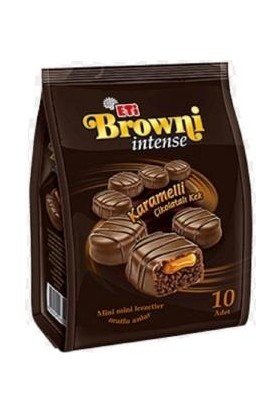 Eti Browni İntense Çikolatalı Kahveli Kek 10 Adet