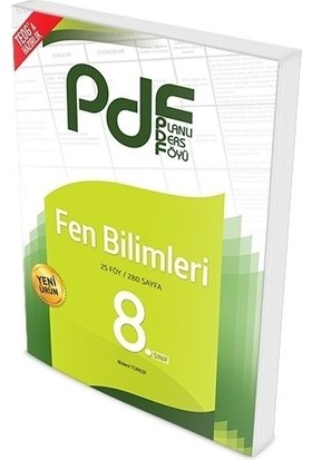 Planlı Ders Föyü Pdf 8.Sınıf Fen Bilimleri