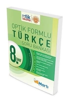 Martı Yayınları 8.Sınıf Optik Formlu Türkçe Soru Bankası