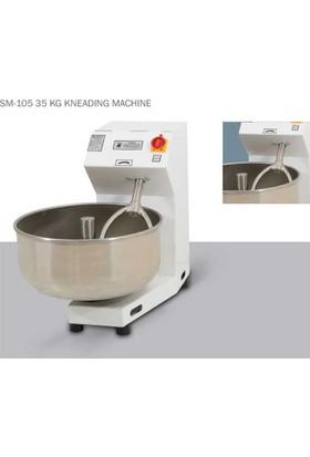 Süper Mikser Hamur Yoğurma Makinesi 35 Kg Hamur Yapma Çıkarma Karma Kazanı