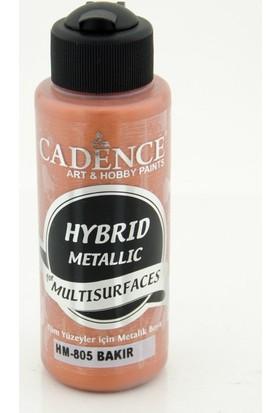 Cadence Multi Surface ( Multisurface ) Hibrit Metalik Boya H805 Bakır 120 Ml