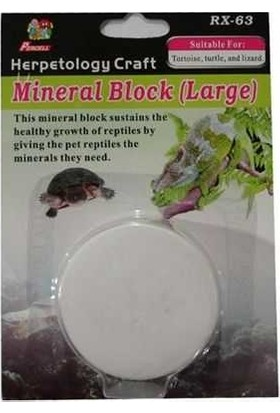 Percell Sürüngen Mineral Blok Büyük