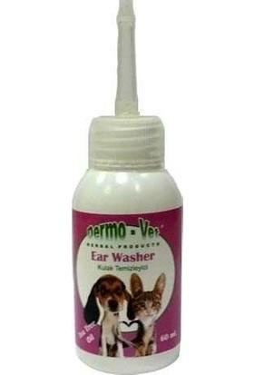 Dermo-Vet Ear Washer Kulak Temizleyici Solusyonu 60 Ml