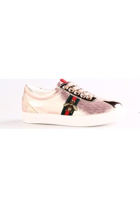 Guja 18Y406-3 Kadın Arı Armalı Sneakers Spor Ayakkabı Rose