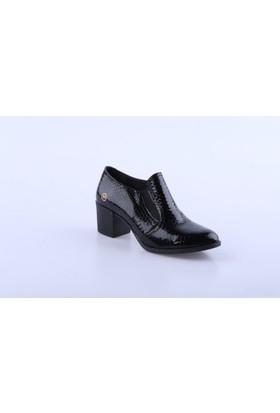 Mammamia 65 Kadın Ayakkabı Int-50 Siyah Rugan