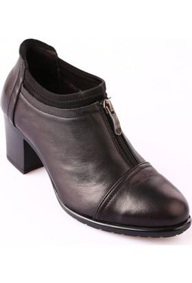 Mammamia D18Ka-245 Kadın Ayakkabı Günlük Siyah Faber