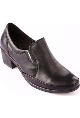 Mammamia D18Ka-130 Kadın Ayakkabı Günlük Siyah Faber