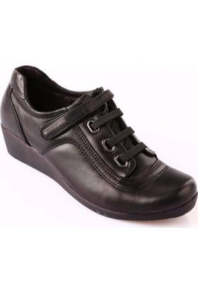 Mammamia D18Ka-280 Kadın Ayakkabı Günlük Siyah Faber