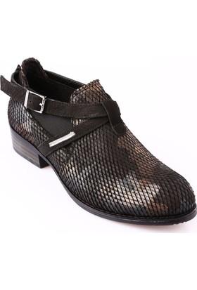 Mammamia D18Ka-900 Kadın Ayakkabı Günlük Siyah Kmfj Ksm Nbk/Siyah Nbk