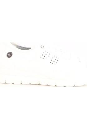 Mammamia 3185B Kadın Günlük Ayakkabı Beyaz Faber