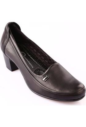 Mammamia D18Ka-3310 Kadın Ayakkabı Günlük Siyah Faber