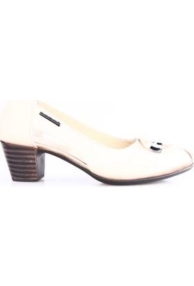Mammamia 3035B Kadın Günlük Ayakkabı Bej Faber