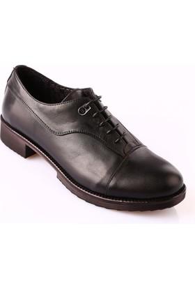 Mammamia D18Ka-420 Kadın Ayakkabı Günlük Siyah Faber