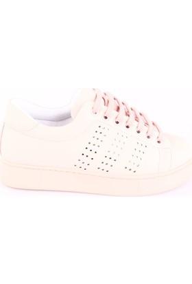 Dgn K1048 Kadın Sneakers Spor Ayakkabı Int-49 Pudra