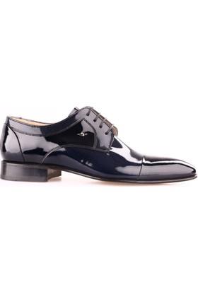 Nevzat Onay 6382-350 Erkek Kösele Taban Klasik Ayakkabı Laci Rugan
