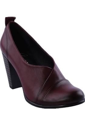 Beety 5005 Kadın Topuklu Ayakkabı Int-30 Bordo