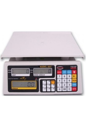 Tess Elektronik Tartı Aleti Hassas Dijital Sdt 15-30 Kg 0,5-1 Gr