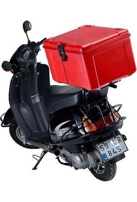 Avatherm Thermobox Pizza Taşıma Kutusu Motorsiklet Paket Servis Çantası
