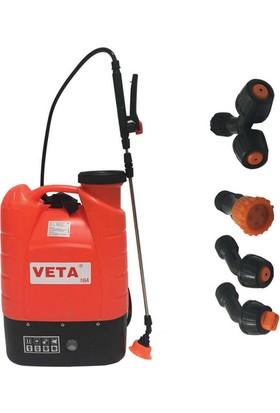 Veta 16A Şarjlı Akülü Sırt Pompası (16 Litrelik)