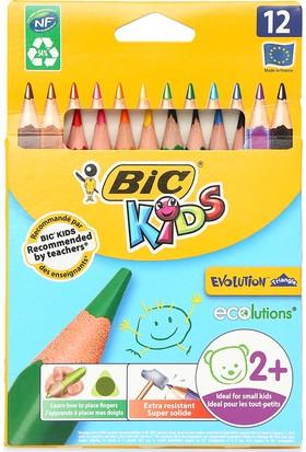 Bic Evolution Üçgen Jumbo Boya Kalemi 12'li Kutu