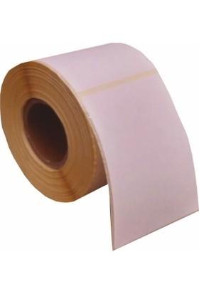 Özsaraç Etiket Barkod Etiketi Eko Termal Kuşe 1 Adet 250 Sarım 120 x 175 cm