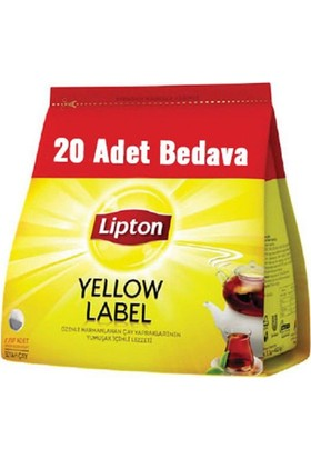 Lipton Yellow Label 3,2 gr Demlik Poşet Çay 120'li