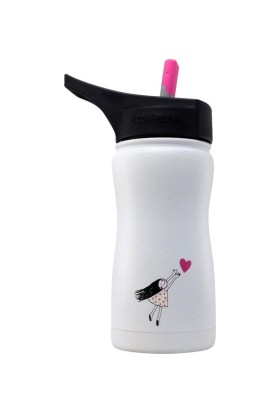 Eco Vessel Frost Kids Insulated Bottle With Straw 0.40lt