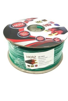 Herz Rg6U4 Uydu Anten Kablosu 100Metre Beyaz - Yeşil
