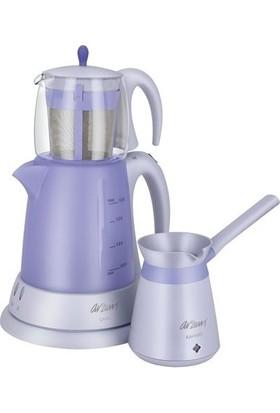 Arzum AR-334 Ehlikeyif Çay Ve Kahve Robot Seti Mor