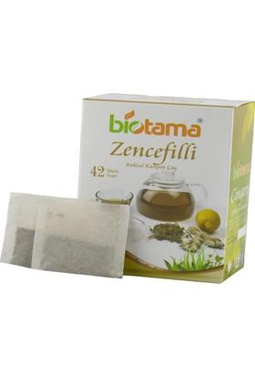 Biotama Zencefilli 130 gr 42'li Süzen Poşet Çay