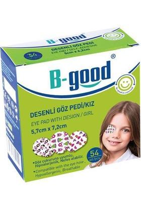 B-Good Desenli Göz Pedi 5,7cm x 7,2cm / Kız