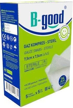 B-Good Gaz Kompres Steril 7.5x7.5 cm 25li Paket