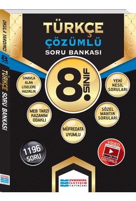 8.Sınıf Türkçe Çözümlü Soru Bankası