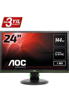 """AOC G2460PG 24"""" 144 Hz 1ms (Display) Nvidia G-Sync Full HD LED Oyuncu Monitörü"""