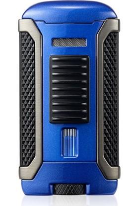 Colibri Apex 1 Jet Alev Puro Çakmağı Mavi/Siyah LI410T4
