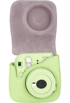 Fujifilm Instax Mini 9 Yeşil Deri Çanta